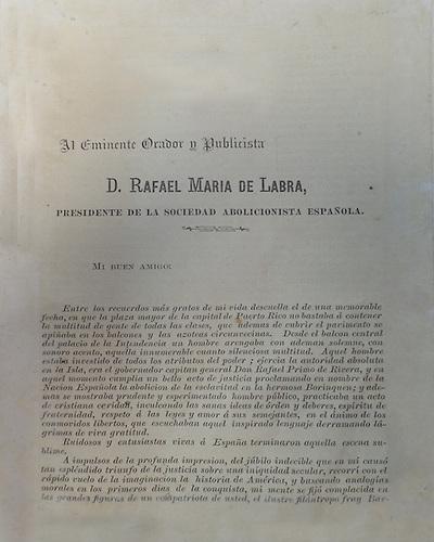 Primera página de Enriquillo de Manuel de Jesús Galván. Imprenta Hermanos García, 1882.