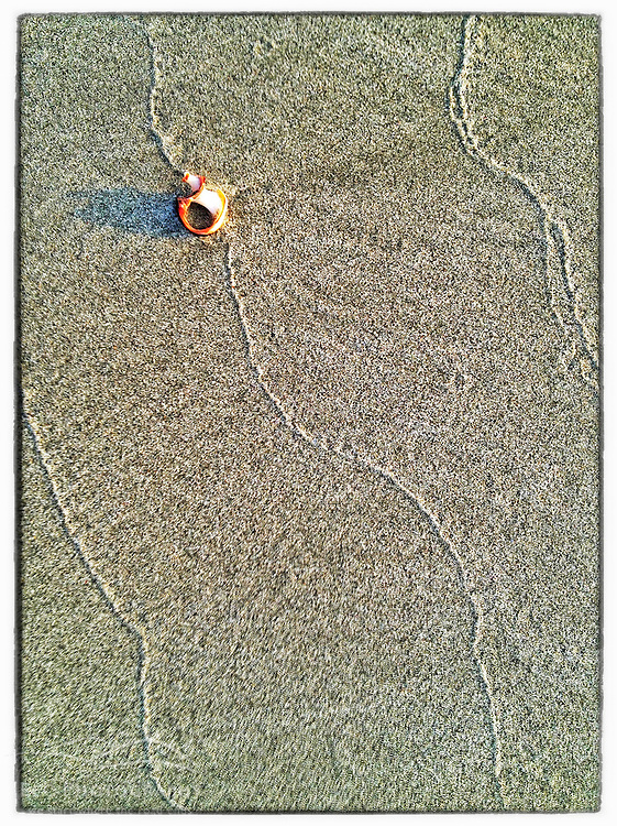 "Patterns on the beach, Great Island Common, New Castle, New Hampshire. iPhone photo - suitable for print reproduction up to 8"" x 12""."