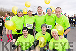 Pacers pictured at the Valentines 10 mile road race in Tralee on Sunday morning last were front l-r: Greg McNamara, Fozzy Foristel and Tom Groarke. Back l-r: David Twomey, Rachel Stokes, Chris Grayson, Mike Kissane and Tommy Commane.