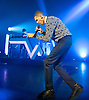 Stromae <br /> live at the <br /> Eventim Apollo Hammersmith, London, Great Britain <br /> 9th December 2014 <br /> <br /> Paul Van Haver better known by his stage name Stromae [stʁɔmaj], is a Belgian singer-songwriter. He has established himself in both hip hop and electronic music genres. Stromae came to wide public attention with his song &quot;Alors on danse&quot;, which became a number one in several European countries.<br /> <br /> Stromae <br /> <br /> Photograph by Elliott Franks<br /> <br /> <br /> 2014 &copy; Elliott Franks