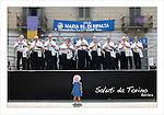 Cartoline da Barriera di Milano<br /> La banda in Piazza Foroni
