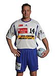 Handball Bundesliga 2005/2006 Autogrammkarten Concordia Delitzsch Marco BERGELT (Concordia) Autogrammkarte, Portrait, Ball, Studio, Freisteller.