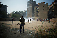 Egypt Revolution: Cairo protests