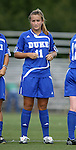 07 October 2007: Duke's Sara Murphy. The Duke University Blue Devils defeated the North Carolina State University Wolfpack 1-0 at Method Road Soccer Stadium in Raleigh, North Carolina in an Atlantic Coast Conference NCAA Division I Women's Soccer game.