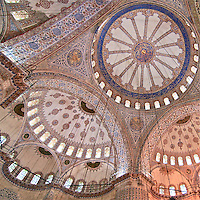 Sultan Ahmet Mosque, known as The Blue Mosque.