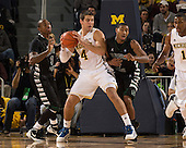 The University of Michigan men's basketball team beat Slippery Rock, 100-62, at Crisler Center in Ann Arbor, Mich., on November 9, 2012.