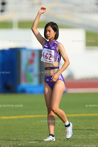 Yuzuki Ishioka, JULY 30, 2015 - Athletics : 2015 All-Japan Inter High School Championships, Women's High Jump Final at Kimiidera Athletic Stadium, Wakayama, Japan. (Photo by YUTAKA/AFLO SPORT)
