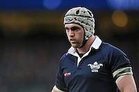Richie Halpin of Oxford University looks on during a break in play. The Varsity Match between Oxford University and Cambridge University on December 10, 2015 at Twickenham Stadium in London, England. Photo by: Patrick Khachfe / Onside Images