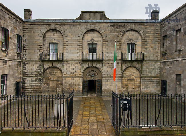 ... to Kilmainham Gaol..Photo by Matt Cashore/University of Notre Dame