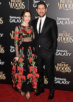 NEW YORK CITY, NY, USA - DECEMBER 08: Emily Blunt, John Krasinski arrive at the World Premiere Of Walt Disney Pictures' 'Into The Woods' held at the Ziegfeld Theatre on December 8, 2014 in New York City, New York, United States. (Photo by Celebrity Monitor)