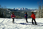 Colorado: Skiing at Telluride, model released. Photo: cotell101  .Photo copyright: Lee Foster, (510) 549-2202, lee@fostertravel.com, www.fostertravel.com