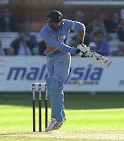 .13/07/2002.Sport - Cricket -NatWest Series Final- Lords.England vs India.Zaheer Khan