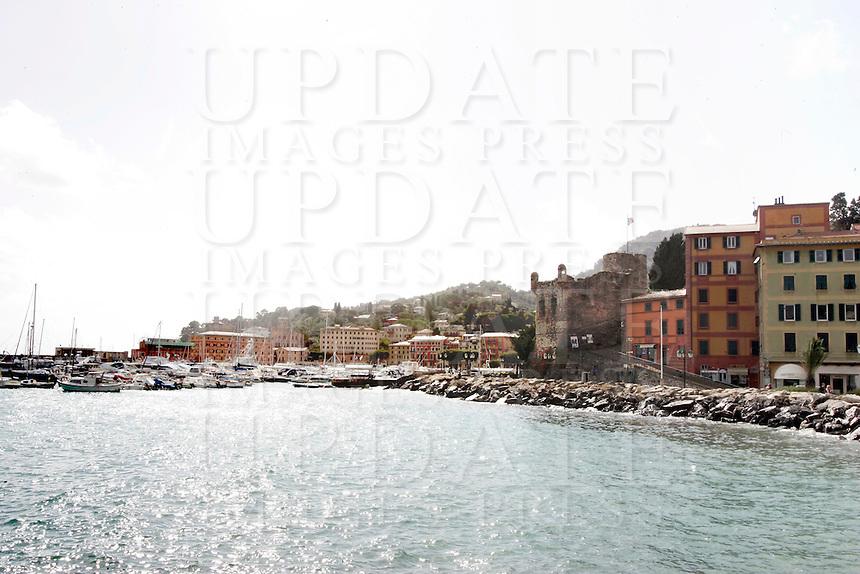Una veduta di Santa Margherita Ligure.<br /> Waterfront of Santa Margherita Ligure.<br /> UPDATE IMAGES PRESS/Riccardo De Luca