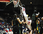 "Ole Miss' Aaron Jones (34) vs. Coastal Carolina at the C.M. ""Tad"" Smith Coliseum in Oxford, Miss. on Tuesday, November 13, 2012."