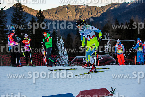 Anja Zavbi Kunaver of Slovenia during Ladies 1.2 km Free Sprint Qualification race at FIS Cross Country World Cup Planica 2016, on January 16, 2016 at Planica, Slovenia. Photo By Grega Valancic / Sportida