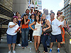 Kelley Missal,Gina Tognoni and fans attending The One Life to Live.43rd Anniversary Block Party outside the ABC Studio on July 15, 2011 in New York City.