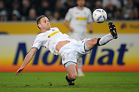 FUSSBALL   1. BUNDESLIGA   SAISON 2011/2012    15. SPIELTAG Borussia Moenchengladbach - Borussia Dortmund        03.12.2011 Filip Daems (Borussia Moenchengladbach) Einzelaktion am Ball