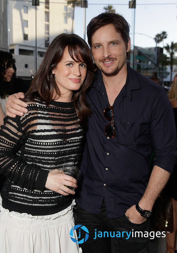 "BEVERLY HILLS, CA - JUNE 06:  Elizabeth Reaser and Peter Facinelli attend a Fox Searchlight screening Of ""The Art Of Getting By"" at Clarity Theater on June 6, 2011 in Beverly Hills, California.  (Photo by Todd Williamson/WireImage)"
