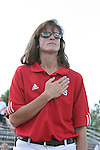07 October 2007: NC State head coach Laura Kerrigan. The Duke University Blue Devils defeated the North Carolina State University Wolfpack 1-0 at Method Road Soccer Stadium in Raleigh, North Carolina in an Atlantic Coast Conference NCAA Division I Women's Soccer game.