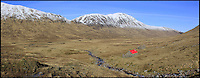 BNPS.co.uk (01202 558833)<br /> Pic: GeoffAllan/BNPS<br /> <br /> Located at Kinbreack in the Western Highlands this small bothy offers a welcome refuge in a wild and rugged glen.<br /> <br /> Views with rooms. - New book reveals the remote 'bothies' that lie hidden in some of Britain's most spectacular locations.<br /> <br /> Nestled away in the beautiful remote wilderness of Scotland are a network of secluded mountain huts - known as bothies - where walkers can stay the night before heading to pastures new.<br /> <br /> What is so special about these quaint outposts in some of the most idyllic and untouched landscapes north of the border is that they are completely free to use.<br /> <br /> As a result, the location of many bothies has been a closely guarded secret with visitor centres reluctant to advertise their whereabouts for fear they become overcrowded.<br /> <br /> But in his new book, The Scottish Bothy Bible, author and photographer Geoff Allan has listed more than 80 of them in a bid to make them known to a wider audience.