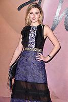 Amber Artherton at the Fashion Awards 2016 at the Royal Albert Hall, London. December 5, 2016<br /> Picture: Steve Vas/Featureflash/SilverHub 0208 004 5359/ 07711 972644 Editors@silverhubmedia.com