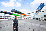 Relaunched of the 31m maxi trimaran Sodebo Ultim', skipper Thomas Coville (FRA)  who has successfully broken the solo round the world record, completing the 28400 nm route in 49 days 3 hours 7 minutes and 38 seconds.