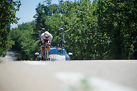 Jasper Stuyven (BEL/Trek-Segafredo)<br /> <br /> stage 13 (ITT): Bourg-Saint-Andeol - Le Caverne de Pont (37.5km)<br /> 103rd Tour de France 2016