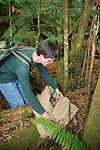 Jean Dubach Releasing Mountain Brushtail Possum