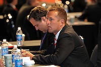 Jason Kreis Real Salt Lake... The 2012 MLS Superdraft was held on January 12, 2012 at The Kansas City Convention Center, Kansas City, MO.