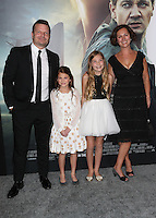 "Westwood, CA - NOVEMBER 06: Abigail Pniowsky, Anna Pniowsky and Parents at Premiere Of Paramount Pictures' ""Arrival"" At Regency Village Theatre, California on November 06, 2016. Credit: Faye Sadou/MediaPunch"