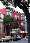 The Red Victorian in Haight Ashbury