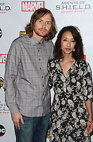 LOS ANGELES, CA - SEPTEMBER 19: Jed Whedon and Maurissa Tancharoen at the premiere of ABC's 'Agents of Shield' Season 4 at Pacific Theatre at The Grove on September 19, 2016 in Los Angeles, California.  Credit: David Edwards/MediaPunch