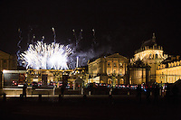Kim Kardashian &  Kanye West - Fireworks in Versailles at the Pre-wedding Party - France