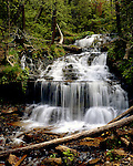 Wagner Falls, Alger County, Michigan, May, 1989