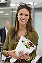 Alessandra Ambrosio arrives in Japan