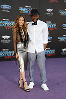 19 April 2017 - Hollywood, California - Allison Holker, Stephen Boss. Premiere Of Disney And Marvel's &quot;Guardians Of The Galaxy Vol. 2&quot; held at Dolby Theatre. <br /> CAP/ADM/PMA<br /> &copy;PMA/ADM/Capital Pictures