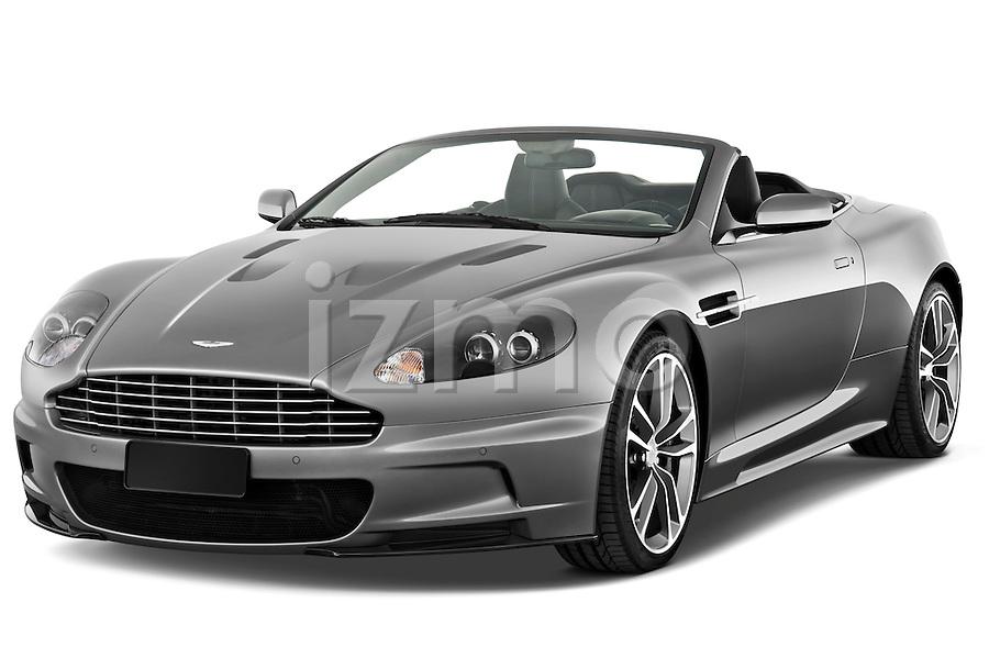 ... three quarter view of a 2009 Aston Martin DBS Volante Convertible