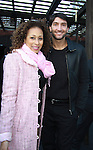 As The World Turns' Tamara Tunie and Evan Lysacek (2010 Olympic Firgure Skater Champion) at the 2012 Skating with the Stars - a benefit gala for Figure Skating in Harlem celebrating 15 years on April 2, 2012 at Central Park's Wollman Rink, New York City, New York.  (Photo by Sue Coflin/Max Photos)