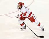 Joe Pereira (BU - 6) - The visiting Merrimack College Warriors tied the Boston University Terriers 1-1 on Friday, November 12, 2010, at Agganis Arena in Boston, Massachusetts.
