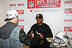 NFL Shop at Super Bowl, Macy's Herald Square welcomes Gridiron Great, Victor Cruz to huddle with fans and check-out the season's hottest football fashions.