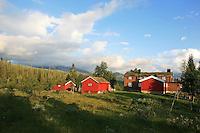 Skarvene og Roltdalen nasjonalpark. Schulzhytta. Ruten bak.  Schulzhytta.