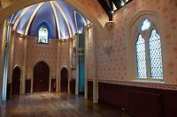 MAR 21 George Michael's funeral chapel in Highgate West Cemetery, London