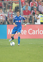 July 3, 2013: Montreal Impact midfielder Jeb Brovsky #5 in action during an MLS game between Toronto FC and Montreal Impact at BMO Field in Toronto, Ontario Canada.<br /> The game ended in a 3-3 draw.
