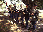 In the aftermath of the surrender at Appomattox on April 9, 1865, many Confederate states began an effort to honor those who, well, fought the United States in a valiant effort to preserve slavery. The holiday didn't seem to feature parades of veterans; it was simply a day, often beginning with a church service, for families to go to cemeteries and tend to and leave flowers on the graves of the roughly 350,000 soldiers killed fighting the U.S.  On April 26, 1866, tens of thousands of Southern women commemorated the first Confederate Memorial Day. Some, however, in the northernmost portions of the South did not participate because their flowers were not yet in bloom. Consequently, they selected dates later in the spring to hold their first Confederate Memorial Days. For example, parts of Virginia chose May 10, commemorating Stonewall Jackson's death. Near Petersburg, VA, they chose June 9, the anniversary of a significant battle there. Others opted for Jefferson Davis' birthday, June 3. ©2013. Jim Bryant Photo. All Rights Reserved....