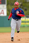 10 March 2006: Daryle Ward, infielder for the Washington Nationals, rounds the bases after hitting a 9th inning solo home-run during a Spring Training game against the Houston Astros. The Astros defeated the Nationals 8-6 at Osceola County Stadium, in Kissimmee, Florida...Mandatory Photo Credit: Ed Wolfstein..