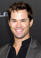 NEW YORK CITY, NY, USA - OCTOBER 06: Andrew Rannells arrives at the New York Premiere Of The Weinstein Company's 'St. Vincent' held at the Ziegfeld Theatre on October 6, 2014 in New York City, New York, United States. (Photo by Celebrity Monitor)