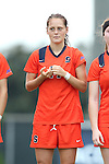 17 October 2013: Syracuse's Jackie Moriarty. The University of North Carolina Tar Heels hosted the Syracuse University Orangemen at Fetzer Field in Chapel Hill, NC in a 2013 NCAA Division I Women's Soccer match. UNC won the game 1-0.