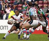 Twickenham, ENGLAND, Stanley Gene, withe ball,  'Engage Super league'  between Harlequins RL vs Bradford Bulls, at the Stoop, 13.05.2006. © Peter Spurrier/Intersport-images.com,  / Mobile +44 [0] 7973 819 551 / email images@intersport-images.com.