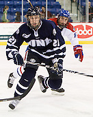 Nick Sorkin (UNH - 21), Matt Ferreira (Lowell - 17) - The visiting University of New Hampshire Wildcats defeated the University of Massachusetts-Lowell River Hawks 3-0 on Thursday, December 2, 2010, at Tsongas Arena in Lowell, Massachusetts.
