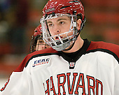 Jimmy Vesey (Harvard - 19) - The Harvard University Crimson defeated the visiting Brown University Bears 3-2 on Friday, November 2, 2012, at the Bright Hockey Center in Boston, Massachusetts.